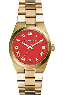 MICHAEL KORS MK5936 Brooks gold-toned stainless steel watch