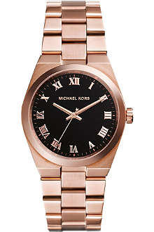 MICHAEL KORS MK5937 Brooks rose gold-toned stainless steel watch