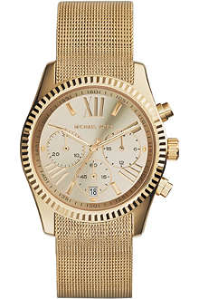 MICHAEL KORS MK5938 Lexington Chronograph gold-plated watch