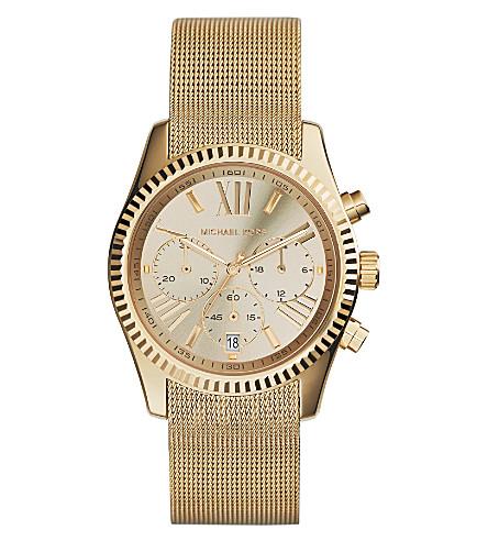 MICHAEL KORS MK5938 Lexington Chronograph gold-plated watch (Gold