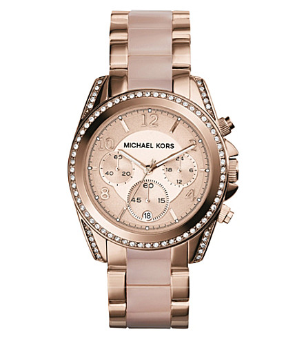 MICHAEL KORS MK5943 Blair rose gold-toned watch (Rose+gold