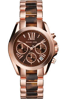 MICHAEL KORS MK5944 Bradshaw Chronograph rose-plated watch
