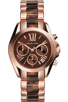 MICHAEL KORS MK5944 Bradshaw Chronograph rose-plated watch