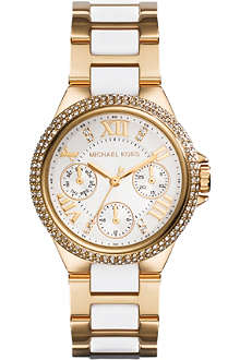 MICHAEL KORS MK5945 Camille gold-plated watch