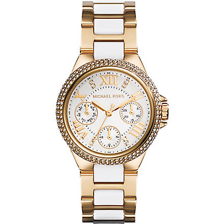 MICHAEL KORS MK5945 Camille gold-plated watch (Gold
