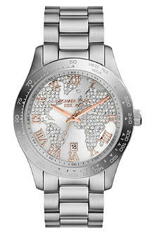 MICHAEL KORS Layton stainless steel watch