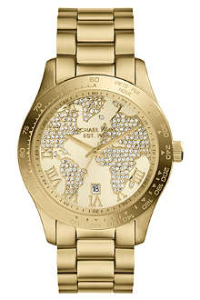 MICHAEL KORS MK5959 Layton gold-toned stainless steel watch