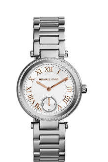 MICHAEL KORS Skylar crystal-embellished watch