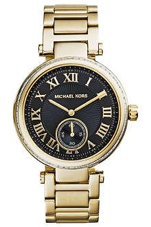 MICHAEL KORS Skylar crystal-embellished watch