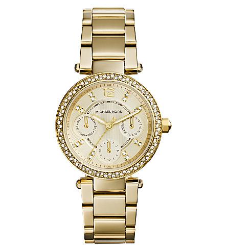 MICHAEL KORS Ladies mini parker watch mk6056 (Gold