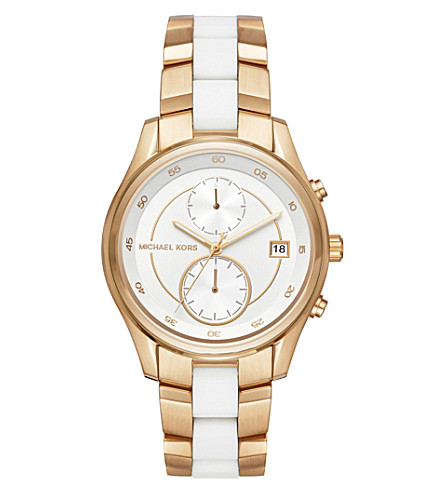 MICHAEL KORS MK6466 Briar stainless steel chronograph watch
