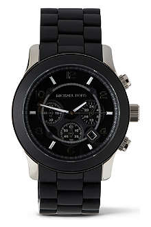 MICHAEL KORS MK8107 Steel and plastic unisex watch