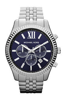 MICHAEL KORS MK8280 Lexington stainless steel chronograph watch