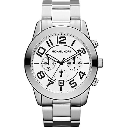 MICHAEL KORS MK8290 stainless steel watch (Silver