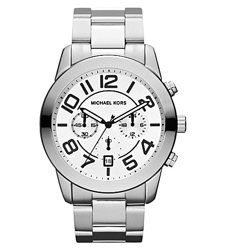MICHAEL KORS MK8290 stainless steel watch (Silver