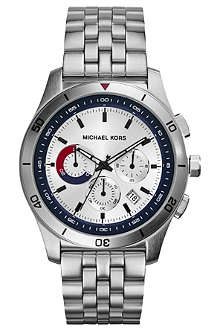 MICHAEL KORS MK8373 Outrigger stainless steel chronograph watch