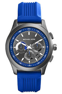 MICHAEL KORS MK8375 Outrigger stainless steel chronograph watch