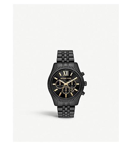 MICHAEL KORS MK8603 Lexington black-toned stainless steel case
