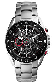 MICHAEL KORS MK9011 Jet Master stainless steel chronograph watch