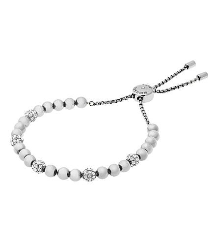 MICHAEL KORS Brilliance silver-toned bracelet