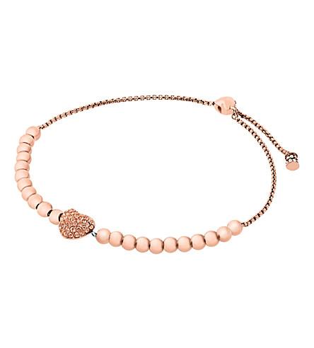 MICHAEL KORS Pave heart, bracelet