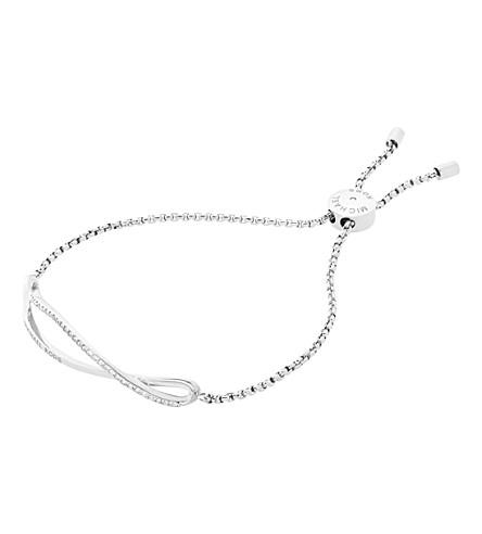 MICHAEL KORS Brilliance silver and crystal bracelet