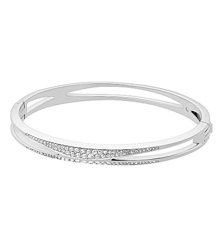 MICHAEL KORS Crystal and stainless steel bracelet