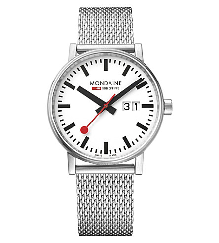 MONDAINE MSE-40210-SM evo2 Big stainless steel watch