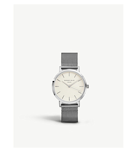 ROSEFIELD MWS-M40 Mercer stainless steel watch