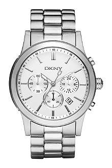 DKNY NY1471 stainless steel chronograph watch
