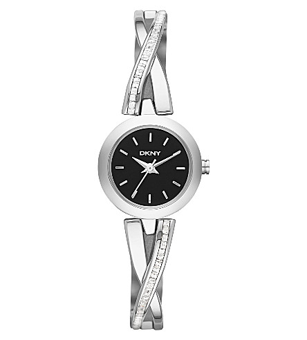 DKNY NY2174 Crosswalk stainless steel watch (Black