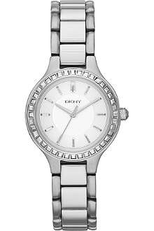 DKNY NY2220 Chambers stainless steel watch