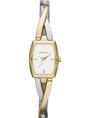 DKNY NY2235 Crosswalk stainless steel and gold-plated watch