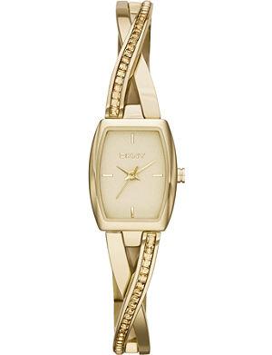 DKNY NY2237 Crosswalk gold-toned PVD watch