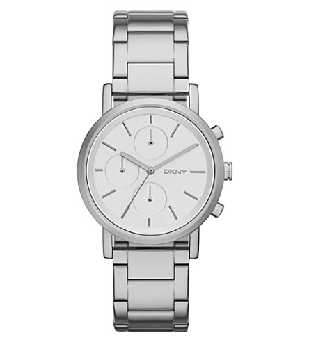 DKNY NY2273 Soho stainless steel watch (Silvery+white