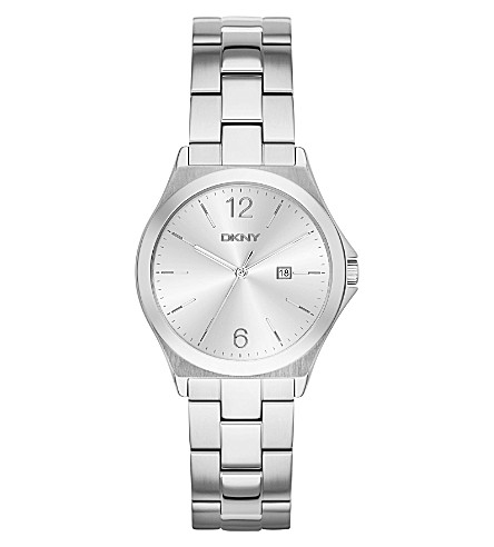 DKNY NY2365 Parsons stainless steel watch (Silver