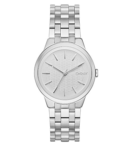 DKNY NY2381 Park Slope stainless steel watch (Silver