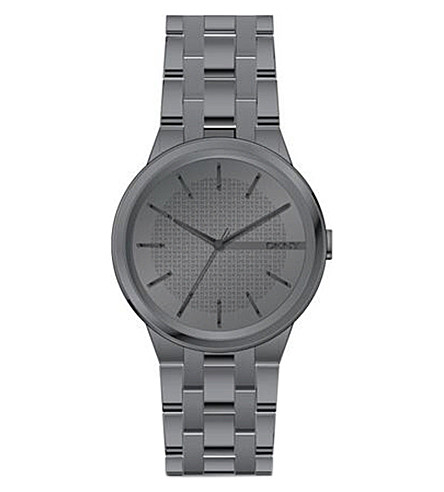 DKNY NY2384 Park Slope matte stainless steel watch (Black