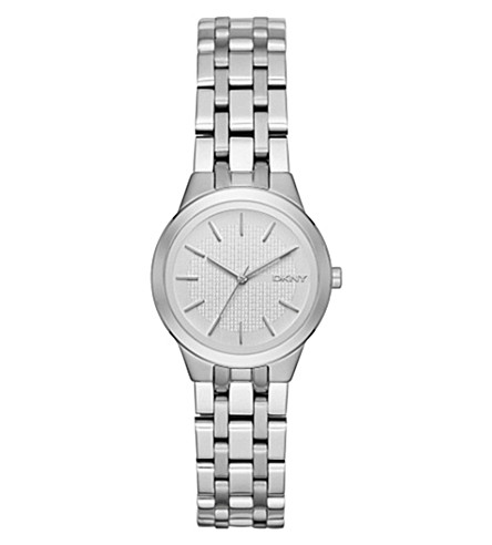 DKNY NY2490 Park Slope stainless steel watch (Silver