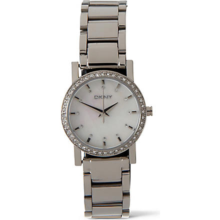DKNY NY4791 embellished watch (Silver