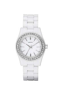 DKNY NY8145 stainless steel watch