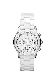 DKNY NY8313 Ceramix chronograph white watch