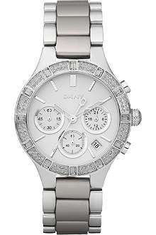 DKNY NY8511 stainless steel chronograph watch