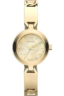 DKNY NY8614 gold-plated watch