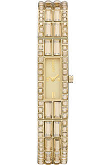 DKNY NY8630 gold-plated watch