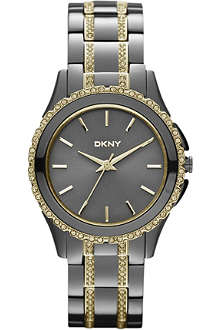 DKNY NY8700 Brooklyn steel watch