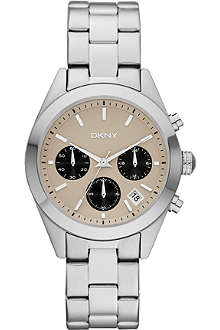 DKNY NY8766 stainless steel chronograph watch