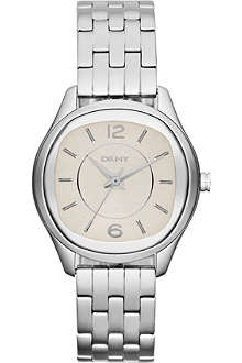 DKNY NY8806 Neutrals stainless steel watch