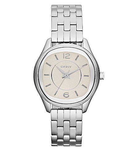DKNY NY8806 Neutrals stainless steel watch (Nude