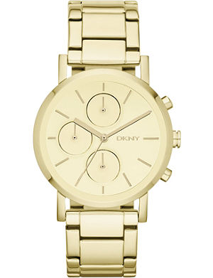 DKNY NY8861 Soho stainless steel and gold-ion plated watch